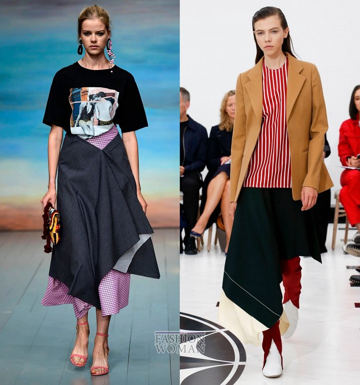 Модные юбки весна-лето 2019 фото №30