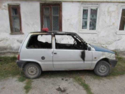 В Жигулевске соседка подожгла автомобиль обидчицы