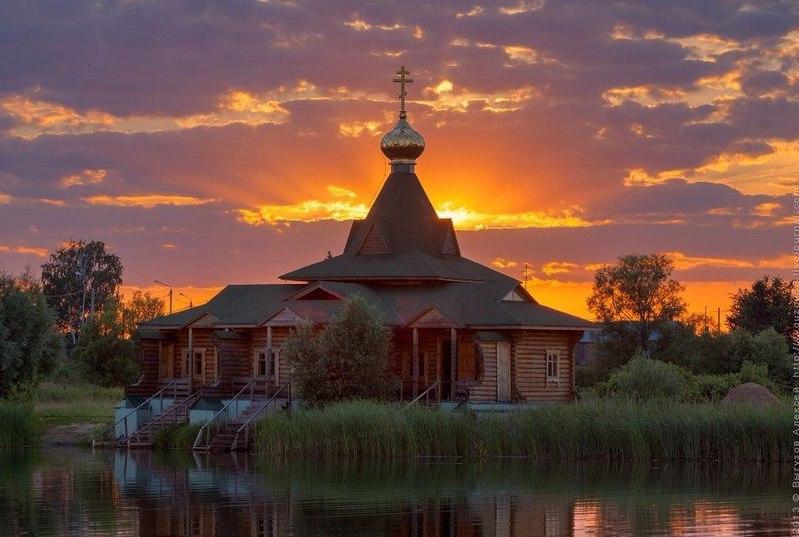 Красота природы и храмы
