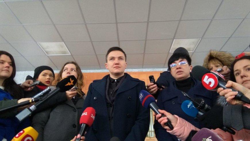 Савченко рассказала об «отвратительных» встречах с «жадным» Порошенко