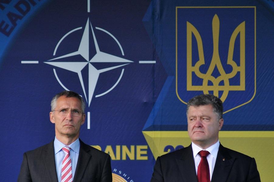 НАТО признало, что Украина хочет в НАТО. И это не смешно