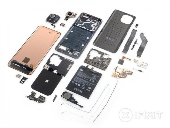 Эксперты iFixit оценили ремонтопригодность Xiaomi Mi 11