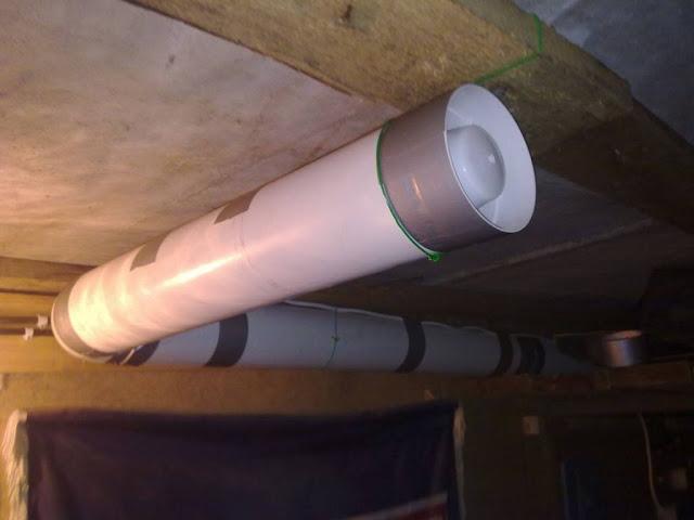Вентиляция в бункере, погребе, подвале и смотровой яме гаража