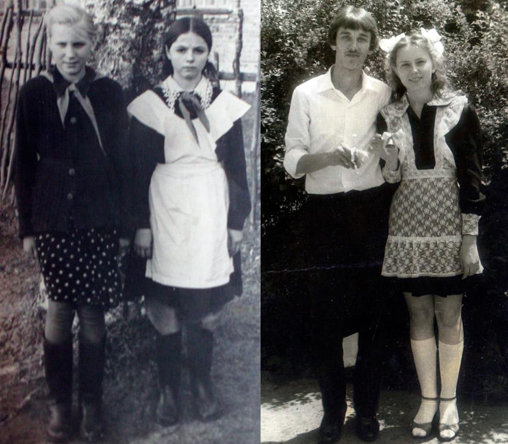 Советские школьницы – форма
