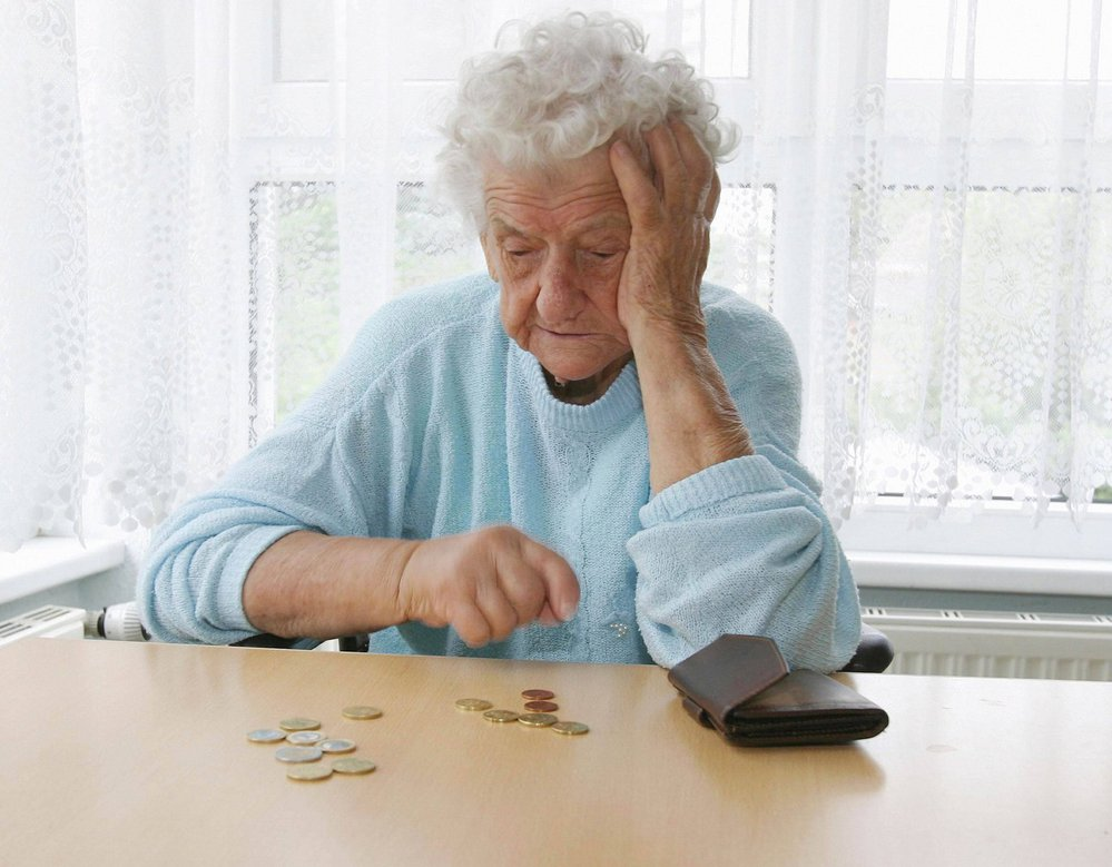 Почему у пенсионеров нет денег?