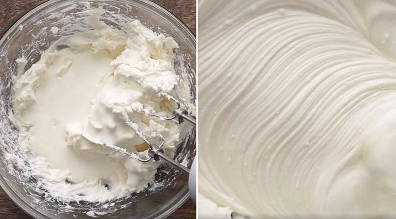 торт из блинов с кремом