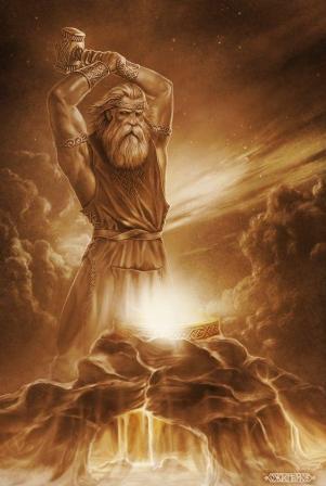 Славянские боги в картинах Игоря Ожиганова дальние дали