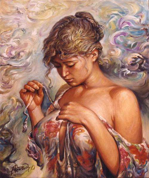 женский образ Аркадий Острицкий - 03