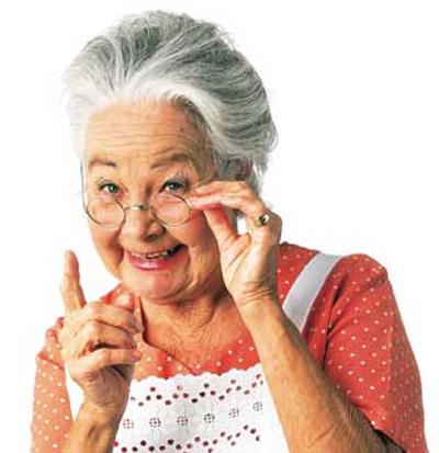 Бабушка Люба.