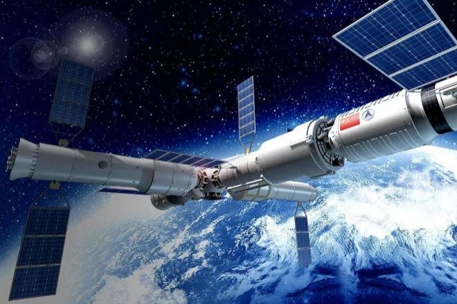 Китай показал части своих космических станций будущего