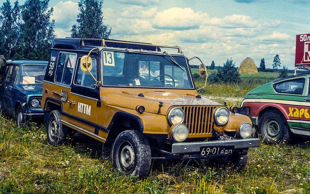 Первые кроссоверы СССР: самоделки из70-80-х авто,автомобиль,Россия