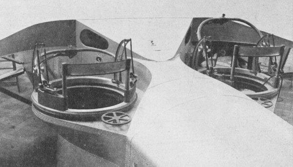 Стрелковые кабины Bleriot 137