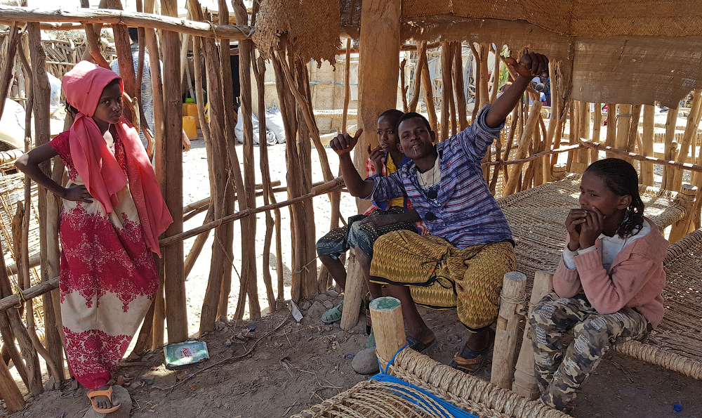 Прогулка по соляной эфиопской пустыне