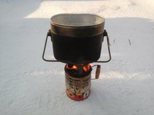 Пиролизная печь для походов из консервных банок