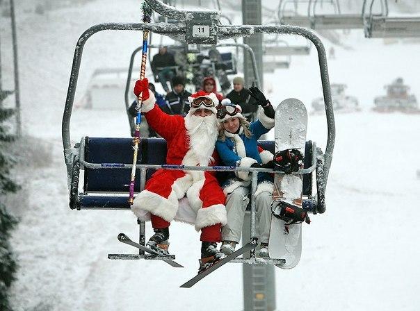 Новый год на горнолыжных курортах!
