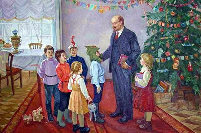 Как отмечала Новый год советская партийная элита