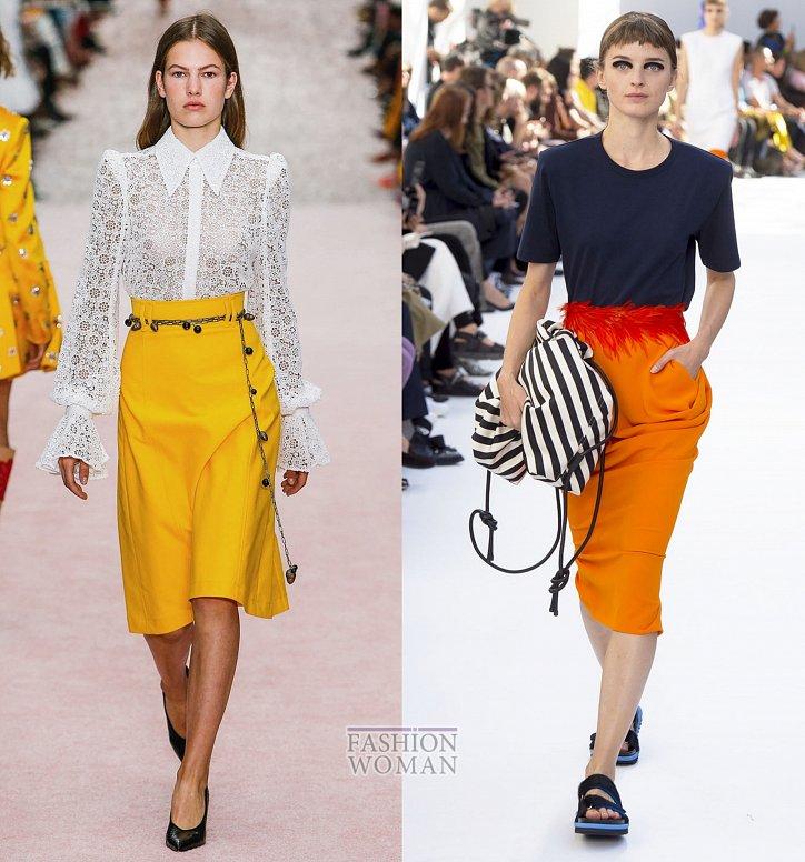 Модные юбки весна-лето 2019 фото №37