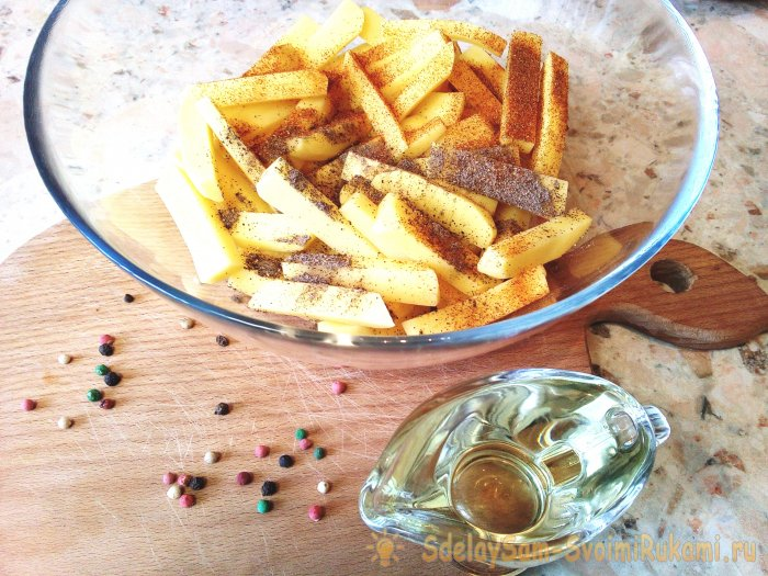 Как пожарить картошку с хрустящей корочкой просто и быстро