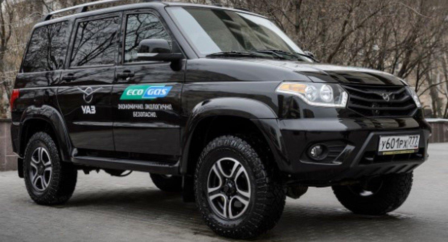 УАЗ планирует выпустить «экономичный» «Патриот» Автомобили