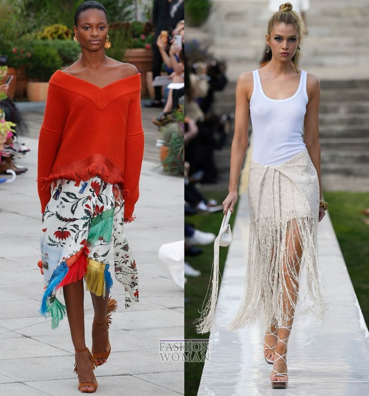 Модные юбки весна-лето 2019 фото №57