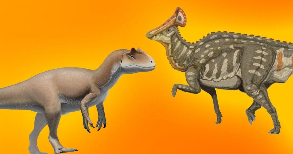 На территории России жили динозавры. Вот как они выглядели