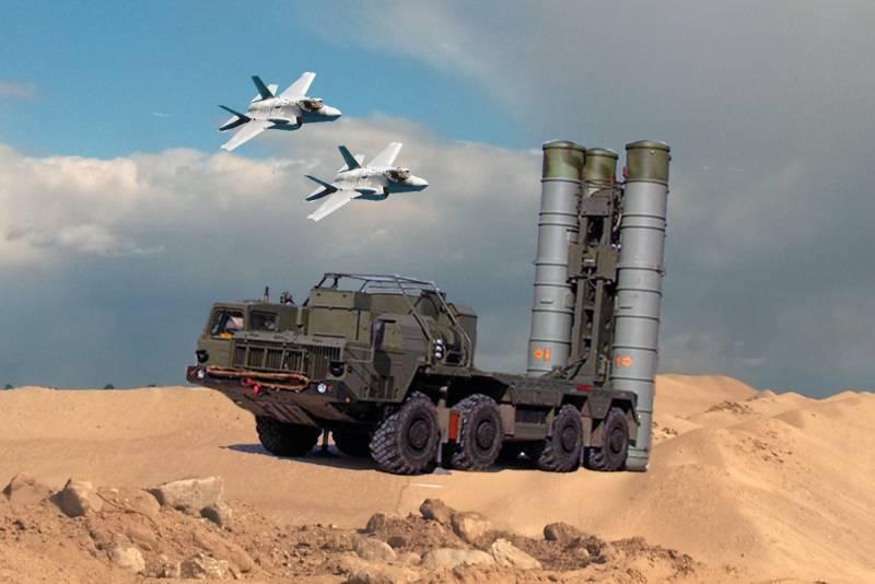 Первый контакт: С-300 засёк израильский F-35 уже на подлёте к Сирии