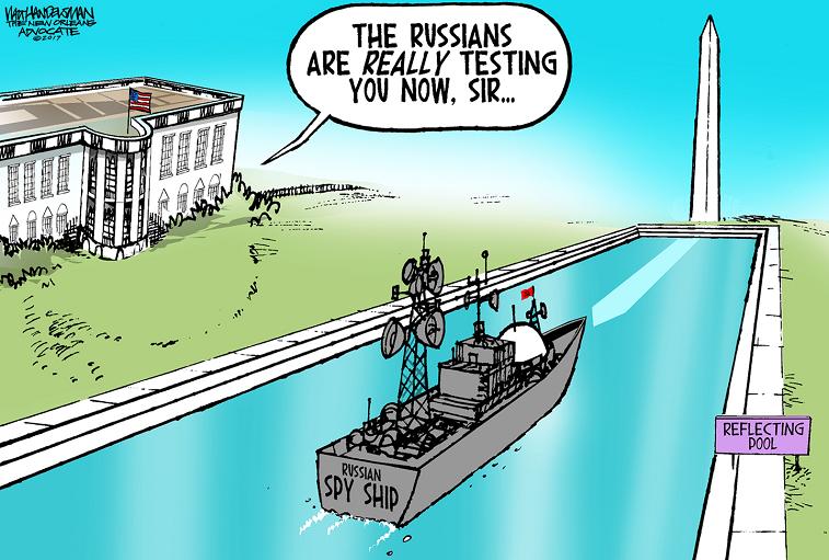 Политическая карикатура от USNews.com