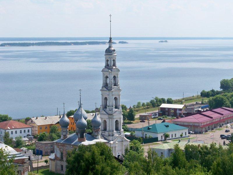 Юрьевец. Ивановская область. Умирающий город