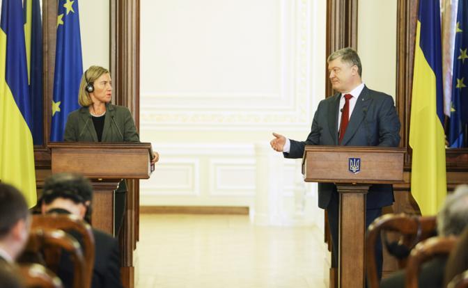 Украина прижала Евросоюз к с…