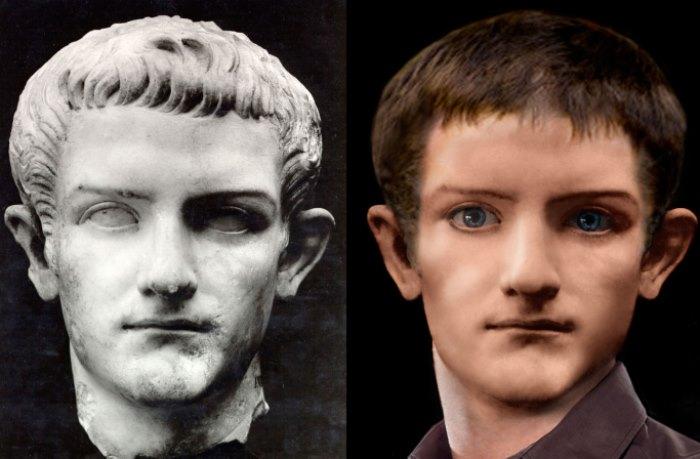 Калигула. Попытка реконструкции внешнего облика | Фото: 3.bp.blogspot.com