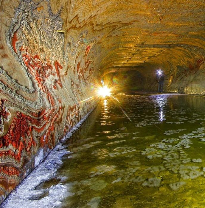 Соляная шахта под Екатеринбургом.