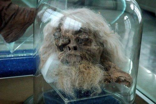 Древние иранские соляные мумии