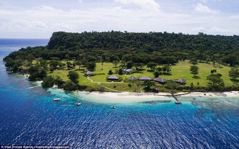 Остальная часть острова утопает в пышной лесной растительности ynews, остров, продается, продается остров, рай, райское место, тихий океан, тропический курорт