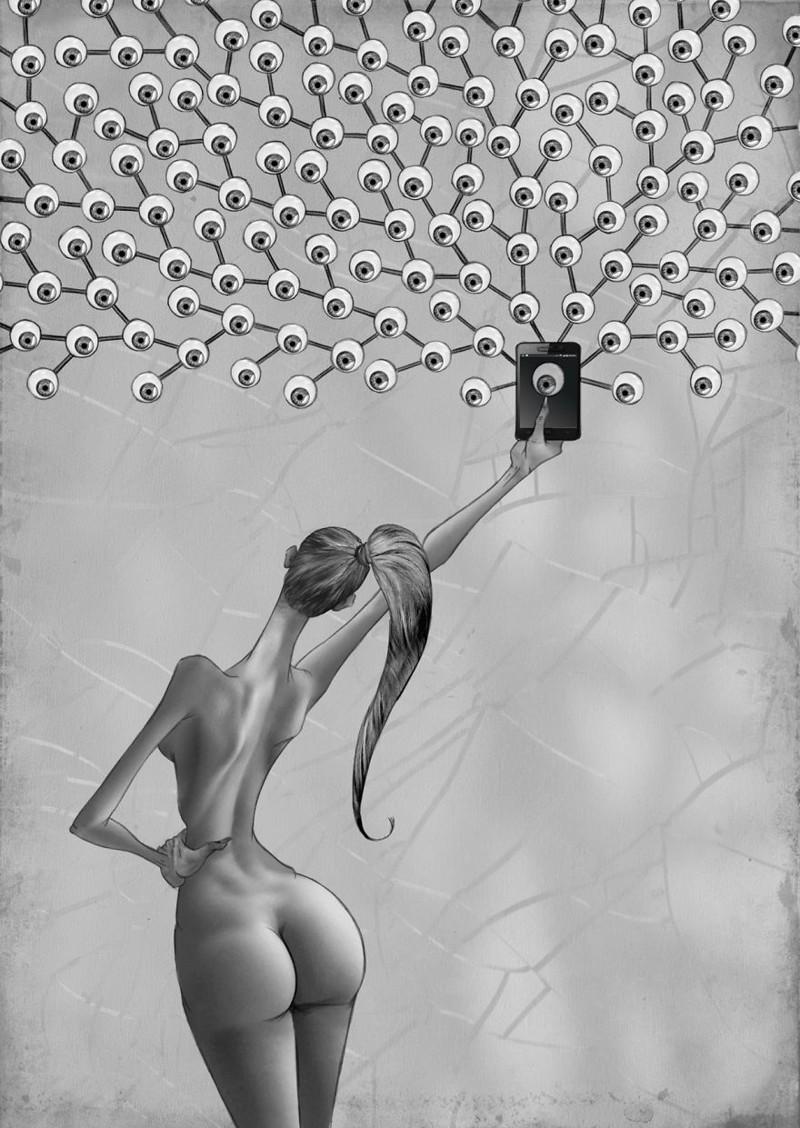 Что не так с современным обществом? Провокационные иллюстрации аргентинского художника