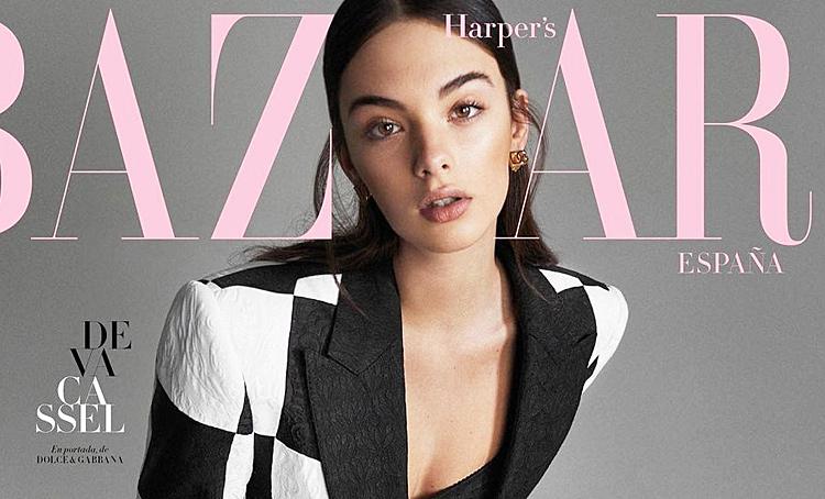 Дочь Моники Белуччи и Венсана Касселя Дева в пикантном образе снялась для обложки глянца Мода,Новости моды