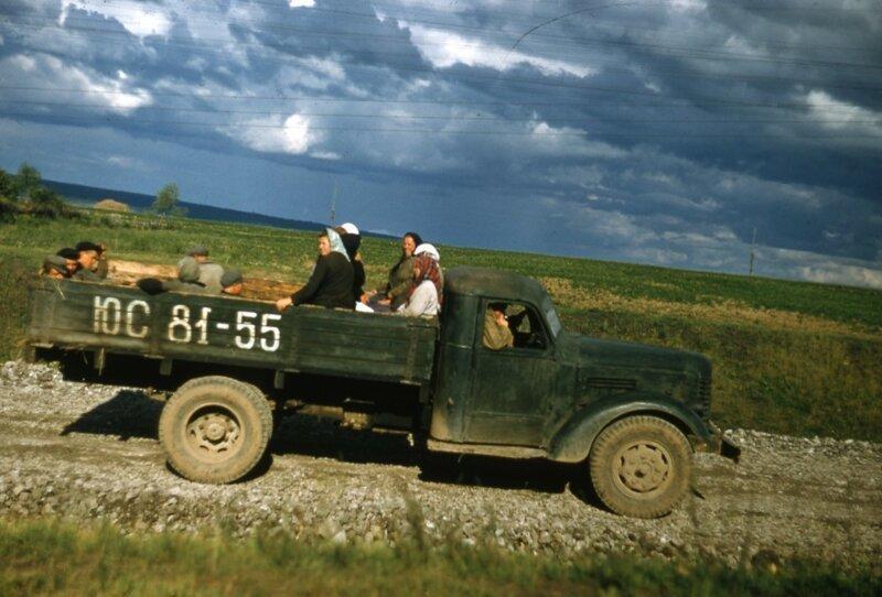 СССР: архив цветных фото СССР, общество, фото