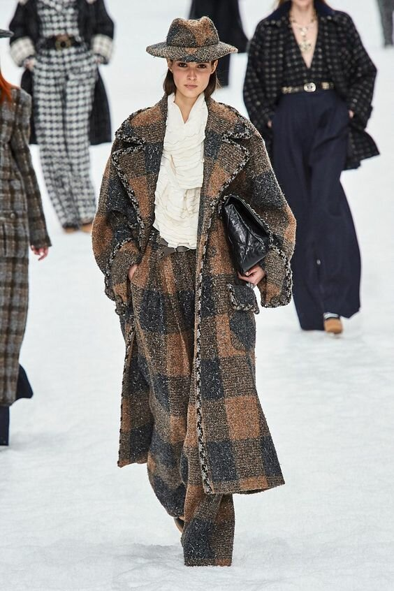 Chanel Fall-Winter 2019-2020 // Коллекция Chanel осень-зима 2019-2020