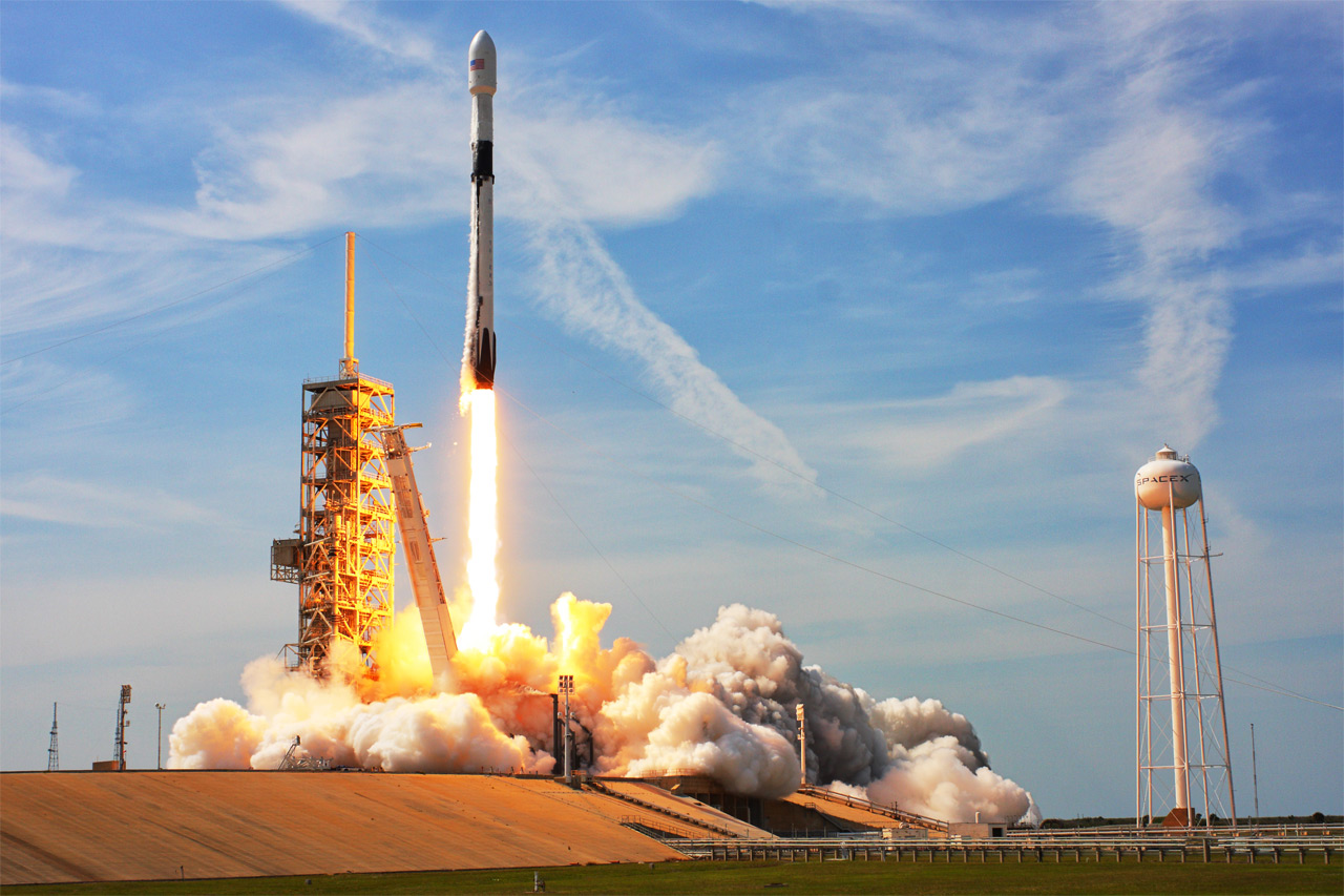 spacex dragon launch - HD1280×853