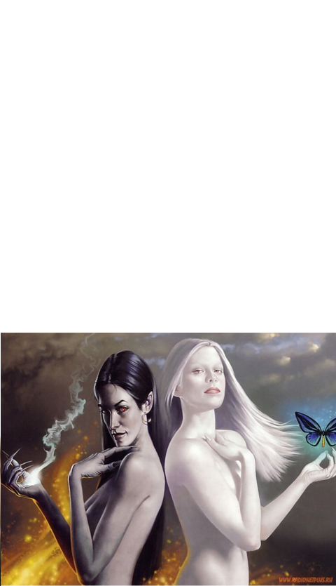 Гороскоп ангелы и демоны картинки