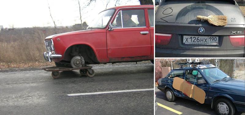15 недоумков, которые попытались сэкономить на ремонте авто