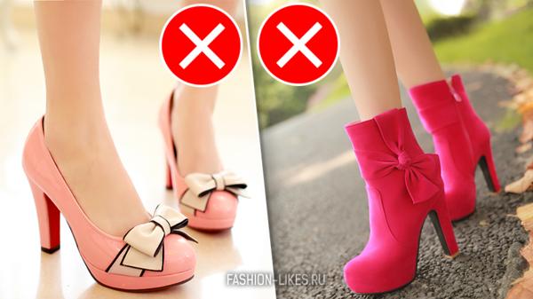 Под запретом: 4 пары обуви, которую опасно надевать на миниатюрную ножку