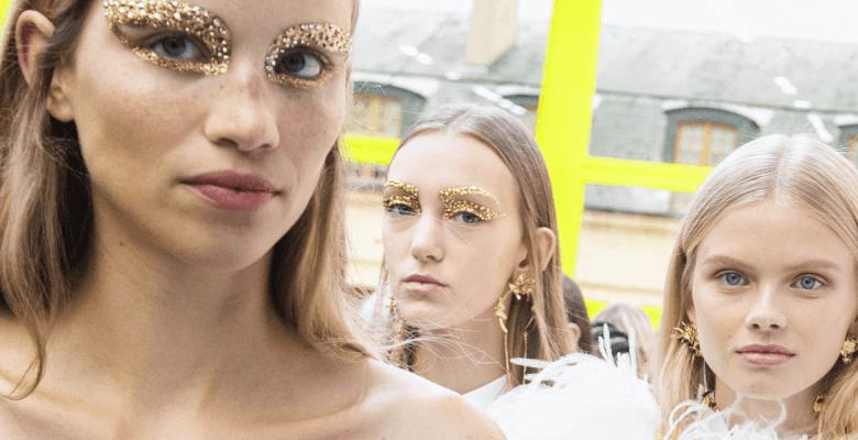 Золотой макияж для Нового го…