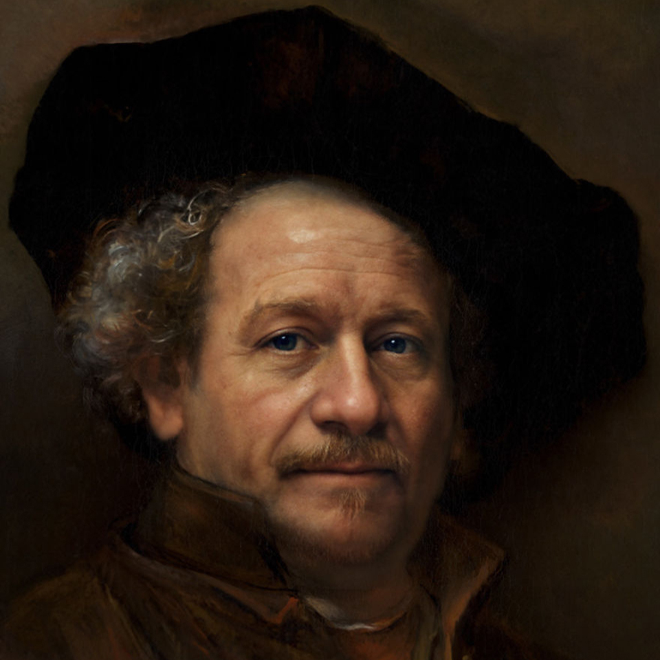 Портреты исторических личностей, созданные нейросетью интересное,машинный интеллект,нейросеть,потрет,фото,фотопроект