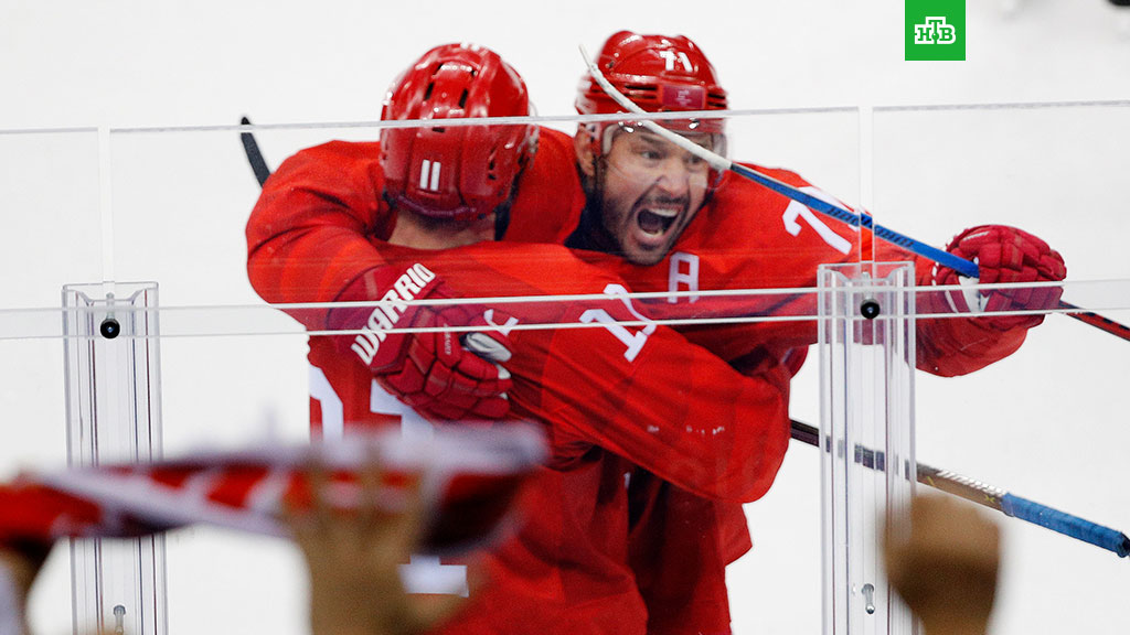 4:0 Красная машина разнесла сборную США на Олимпиаде