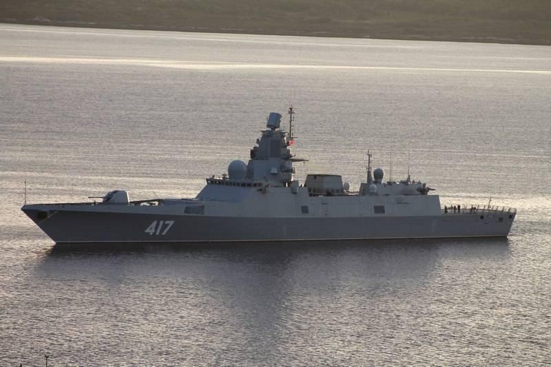 Фрегат «Адмирал Горшков» направлен на плановое обслуживание и модернизацию