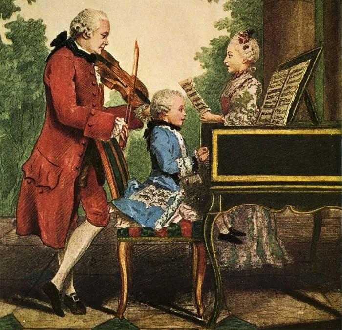Шутки великого композитора Вольфганга Моцарта