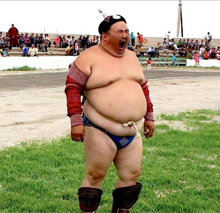 Монгольский колорит.