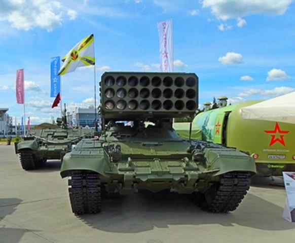 """Огнеметные танковые """"Буратино"""" могли получить сбивающие ПТУР """"Дрозды-2"""""""