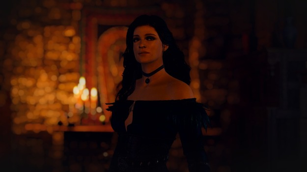 В «Ведьмак 3» добавили Аню Чалотру в роли Йеннифэр из сериала «Ведьмак» Ведьмак,Игры,Йеннифер,персонажи