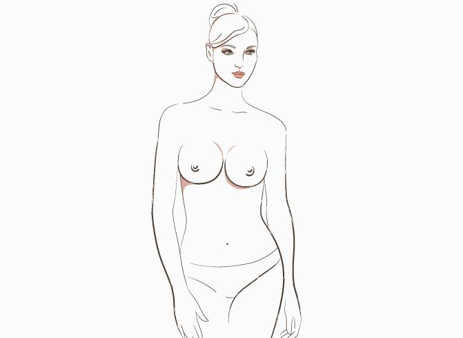 Виды женской груди